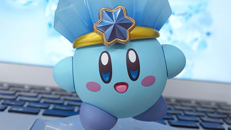 Esse Nendoroid do Kirby de Gelo vai derreter seu coração