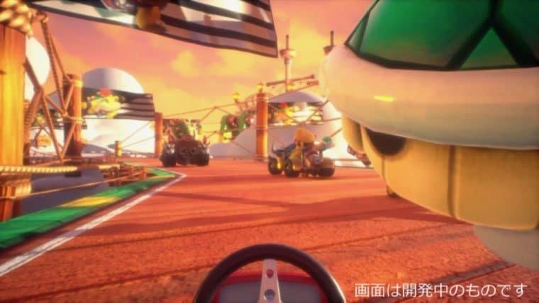 Mario Kart chega à realidade virtual (mas, por enquanto, só no Japão)