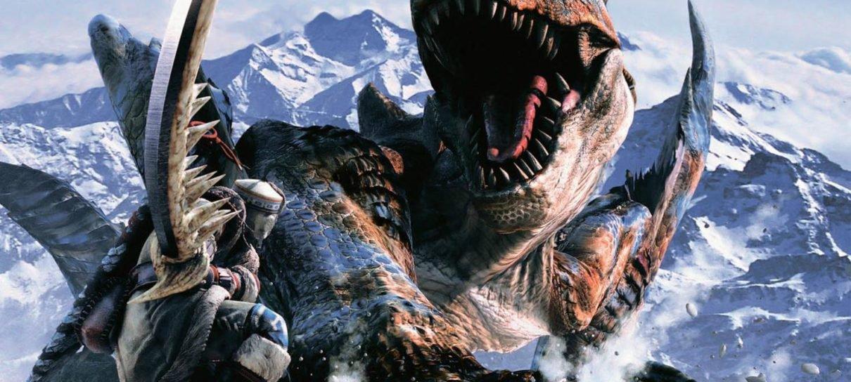 Capcom registra patente de Monster Hunter nos EUA