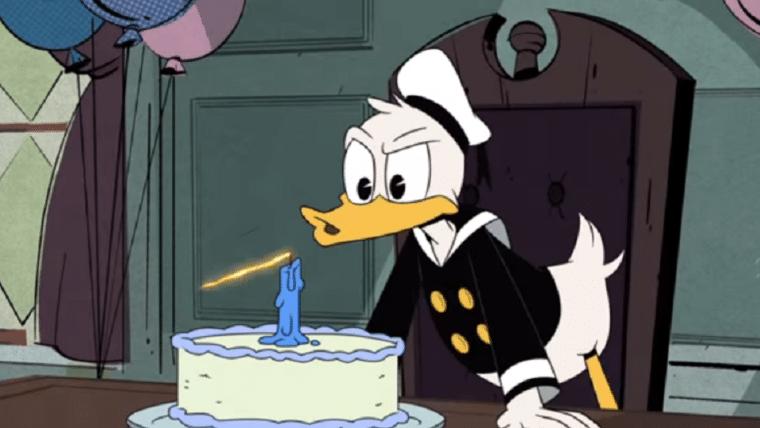 DuckTales | Pato Donald ganha clipe de sua festa de aniversário