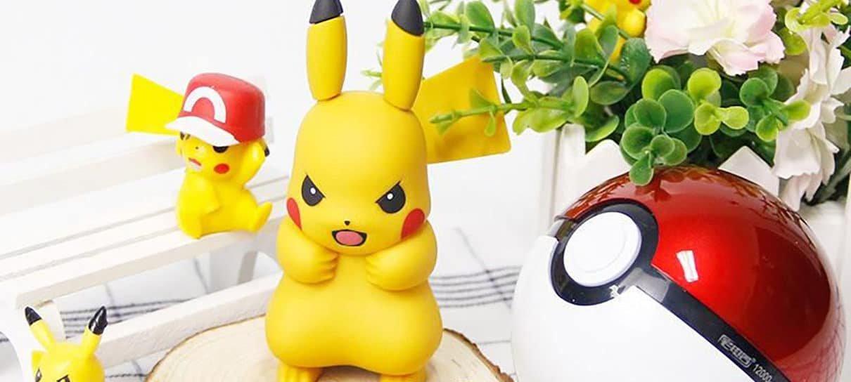 Pokémon | Pikachu, eu escolho você para carregar meu smartphone!