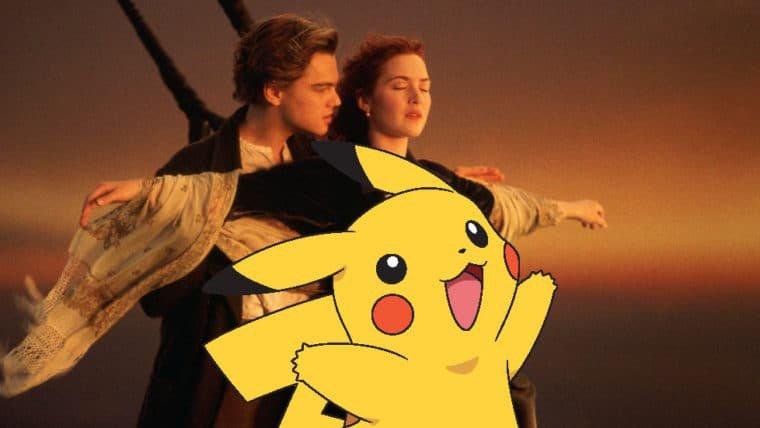 Pokémon   Anime recria cena de Titanic com Pikachu e Popplio