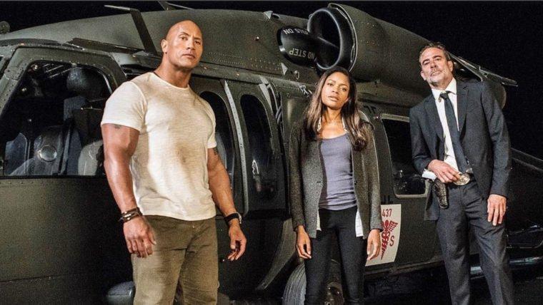 Rampage | The Rock e Naomie Harris estão prontos para a ação em nova foto