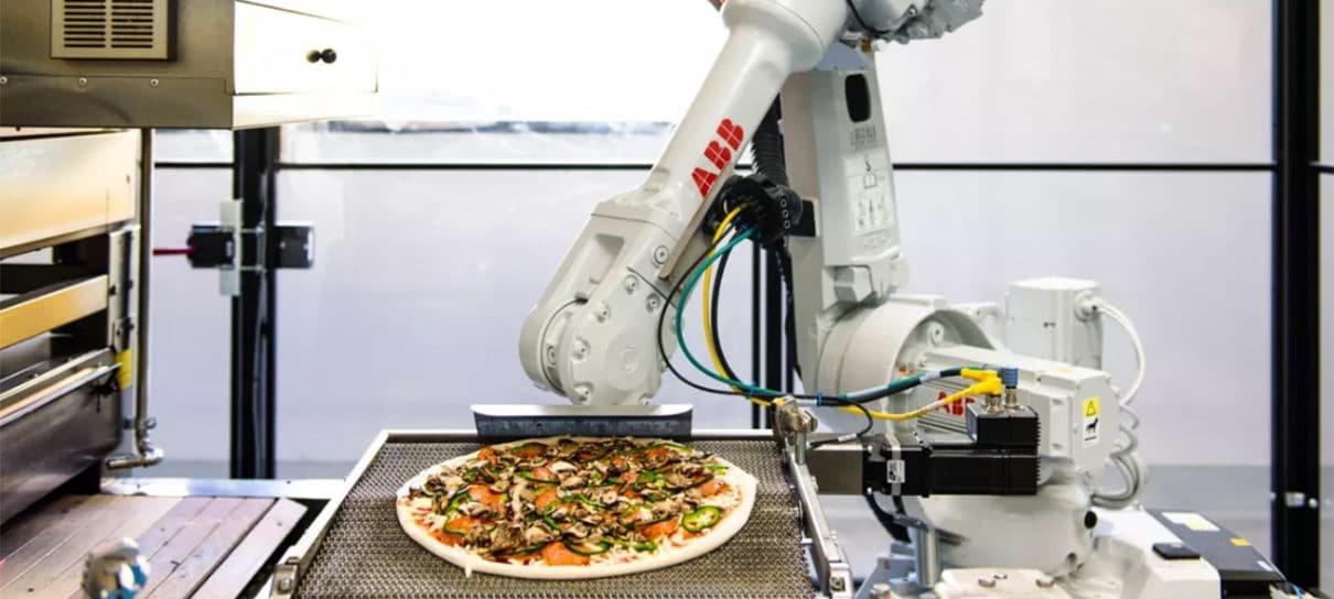 Robô pizzaiolo pode ajudar a agilizar a entrega de pizzas
