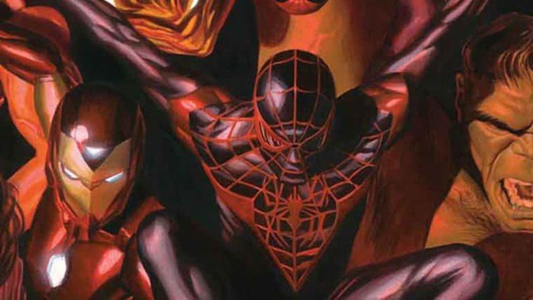 Diferentes gerações dos heróis Marvel se encontram em capa pintada por Alex Ross