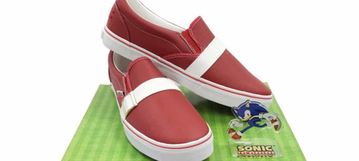Gotta go Fast com esse sapato do Sonic