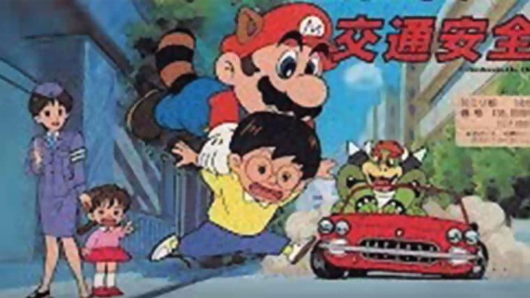 Super Mario já ensinou sobre segurança no trânsito; veja trecho da animação