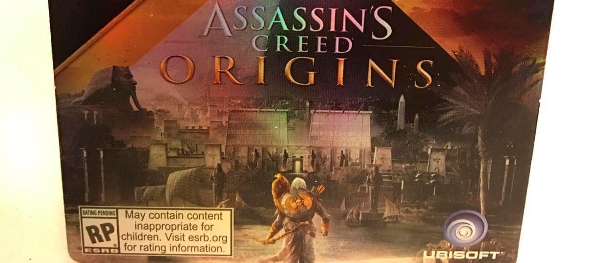 Assassin's Creed Origins | Cartão de loja mostra nova imagem do jogo