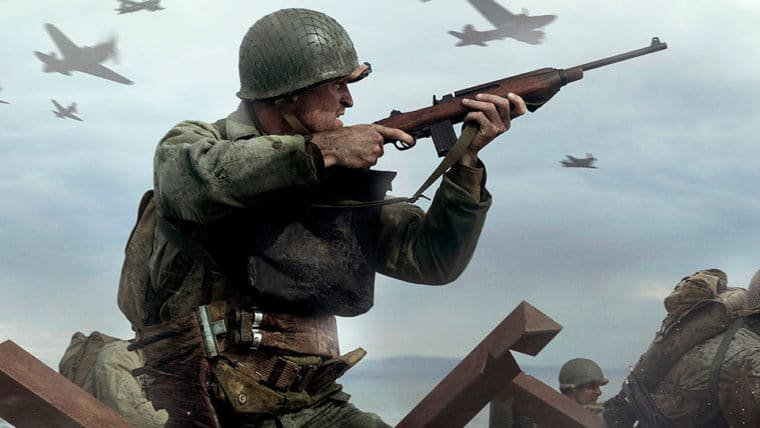 A guerra cai por todos os lados no trailer do multiplayer de Call of Duty: WWII