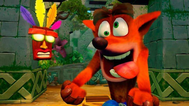 Crash Bandicoot N. Sane Trilogy conta com referências à franquia Uncharted