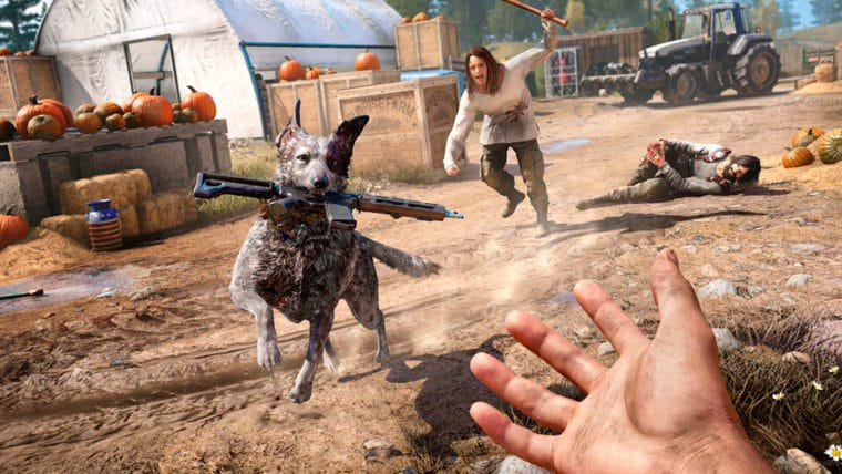 E3 2017 | O cão Boomer entra em ação no novo vídeo de bastidores de Far Cry 5