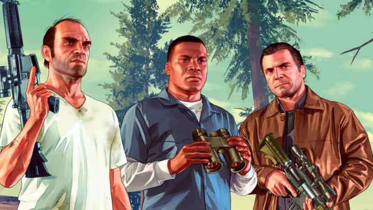 GTA V é o jogo de maior receita nos EUA desde 1995