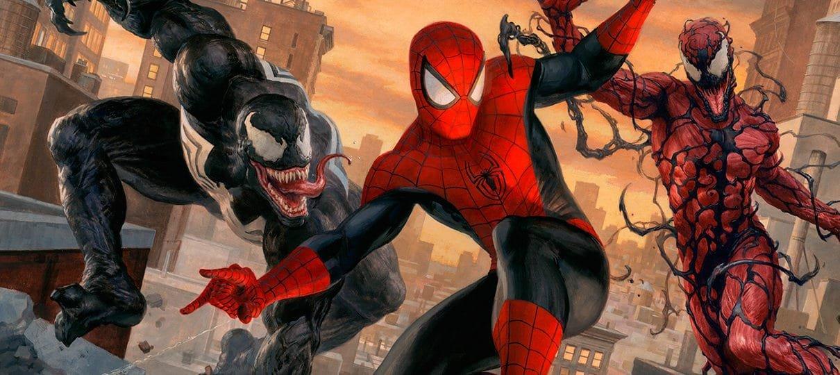 Venom é da mesma realidade do Homem-Aranha no cinema, mas separado do Universo Marvel