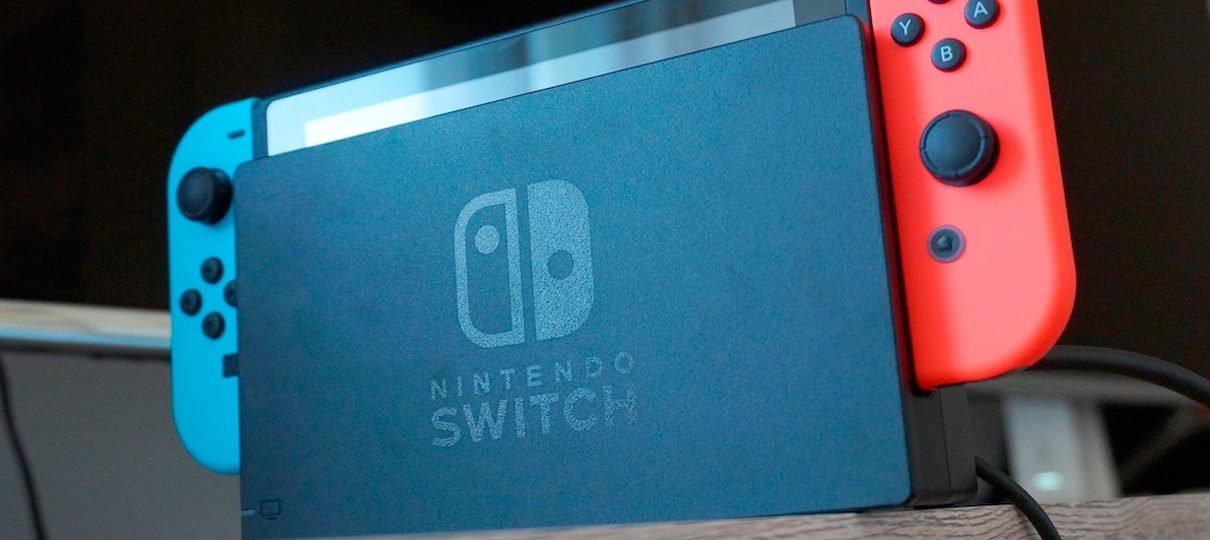 Nintendo Switch alcança 1 milhão de unidades vendidas no Japão