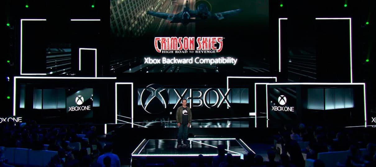 E3 2017   Xbox One terá retrocompatibilidade com jogos do Xbox original