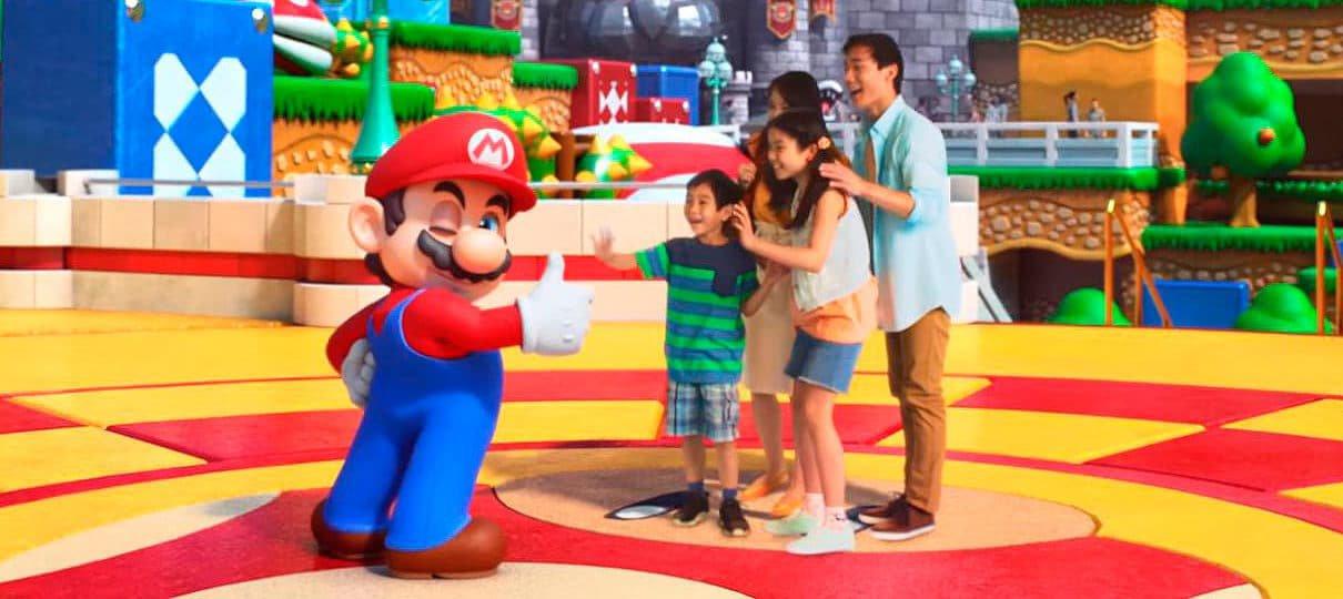 Super Nintendo World será lançado no ocidente eventualmente; confira detalhes