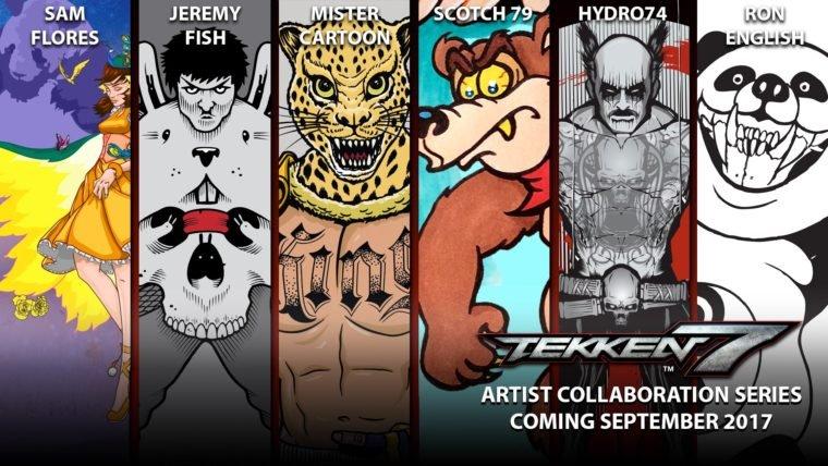 SDCC 2017 | Tekken 7 terá painéis personalizados para os lutadores como DLC gratuito