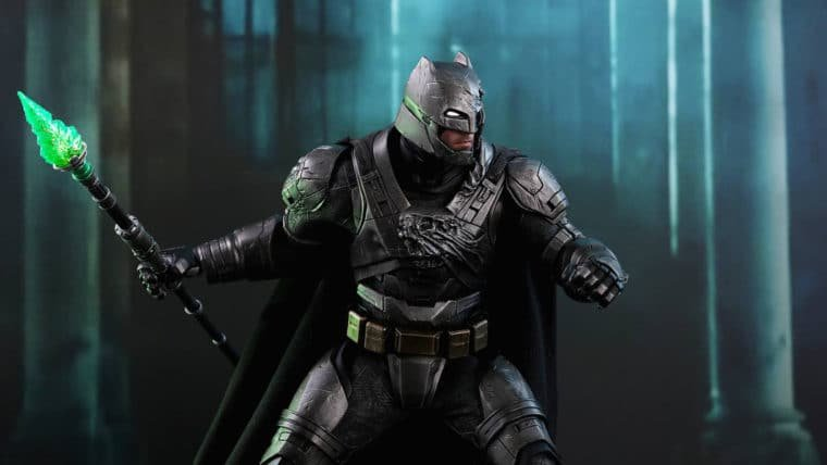 Batman da Hot Toys está pronto para atacar, exceto se alguém gritar