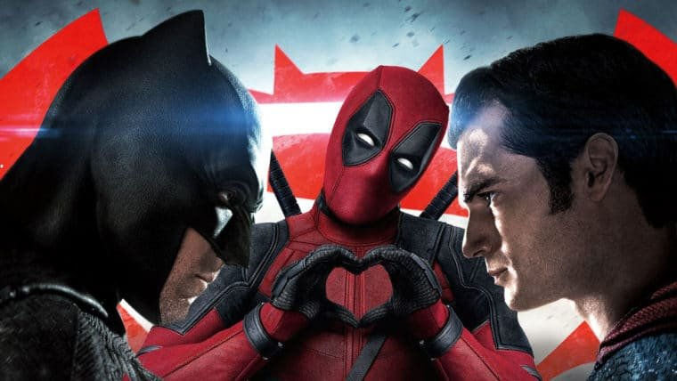 Deadpool zoa Batman vs Superman em HQ (de novo!)