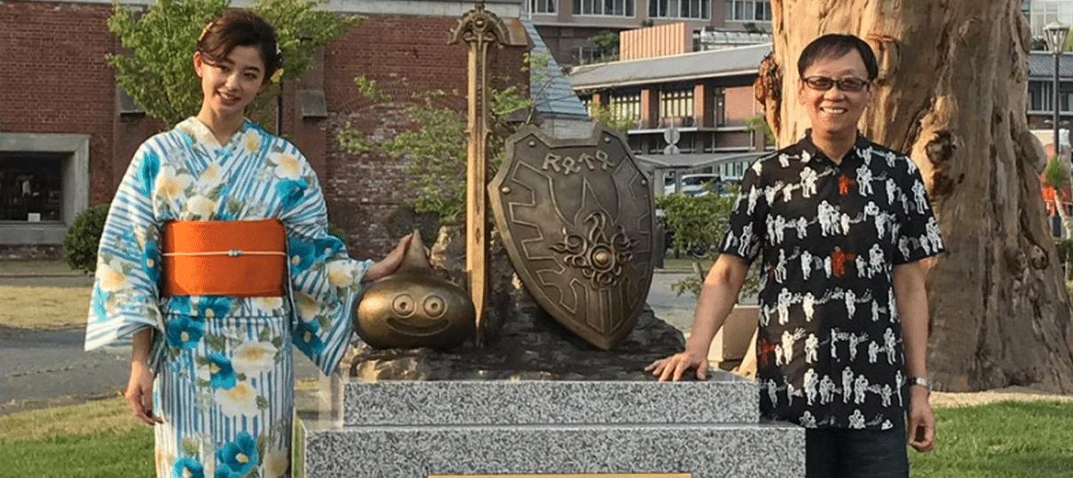 Monumento de Dragon Quest é inaugurado para comemorar os 30 anos da série