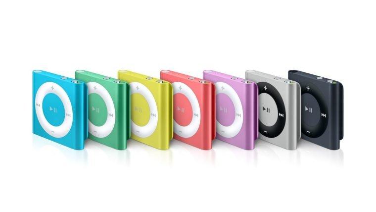 O fim de uma era: Apple anuncia fim dos iPods Nano e Shuffle