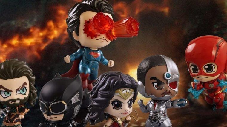 Liga da Justiça versão cosbaby vai derrotar os inimigos usando a fofura
