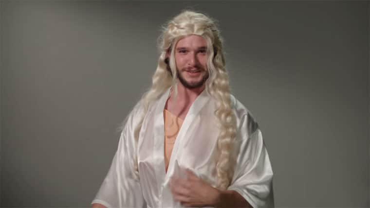 Game of Thrones   Kit Harington tem as melhores imitações dos sete reinos
