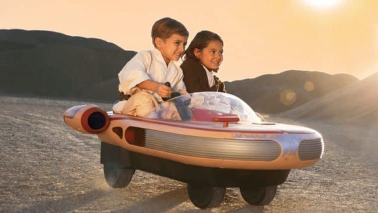 Star Wars | Esse Landspeeder vai fazer você querer voltar a ser criança