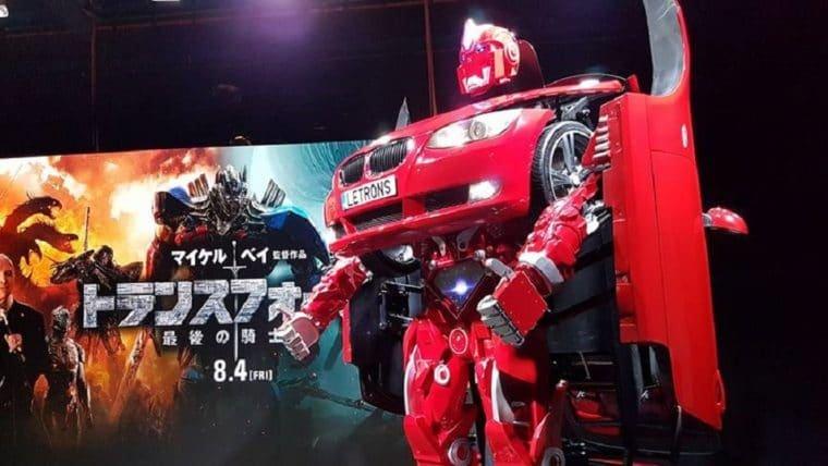 Estreia japonesa de Transformers: O Último Cavaleiro terá transformer de verdade