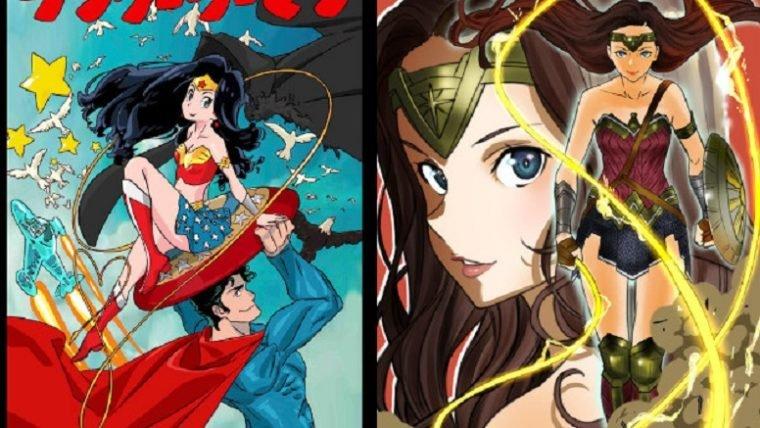 Artistas de Kill la Kill e SAO desenham Mulher-Maravilha para promover lançamento no Japão