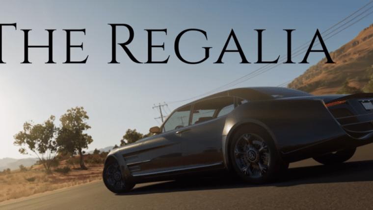 Regalia, o carro de Final Fantasy XV, estará jogável em Forza Horizon 3