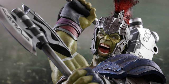 O Hulk esmaga a sua carteira com essa action figure de Thor: Ragnarok