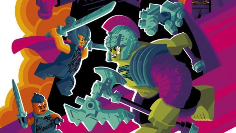 SDCC 2017   Thor: Ragnarok ganha cartaz com personagens em versão LEGO