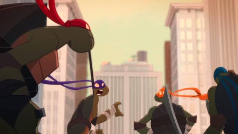 As Tartarugas Ninja enfrentam Krang em novo curta animado