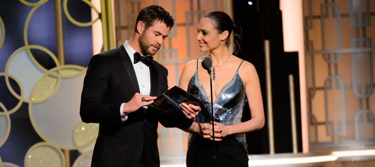 Chris Hemsworth, o Thor, considera Mulher-Maravilha seu filme preferido do ano