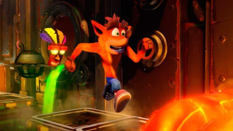 Crash Bandicoot domina listas de jogos mais vendidos da PS Store em junho