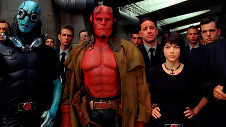 Hellboy   Reboot nos cinemas originalmente continuaria no universo de Guillermo del Toro