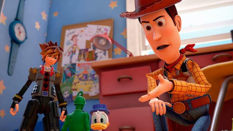 Acontecimentos de Kingdom Hearts 3 são canônicos no universo de Toy Story!