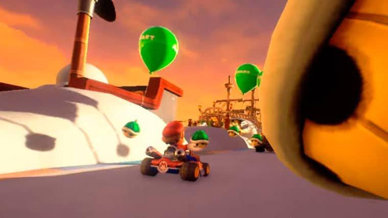Teaser prova que Mario Kart em realidade virtual é completamente insano
