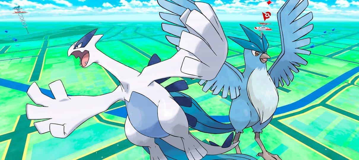 Pokémon GO | Lugia e Articuno são os primeiros lendários disponíveis