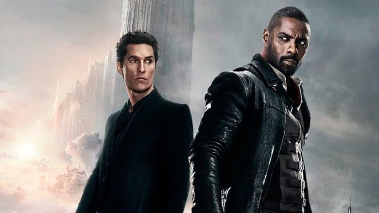 A Torre Negra | Pistoleiro e Homem de Preto estão prontos para o confronto em novo pôster