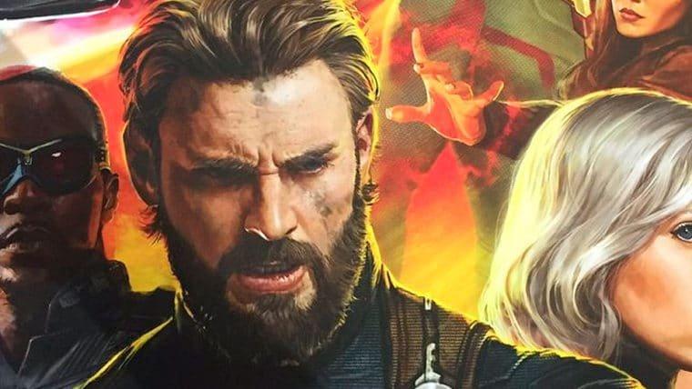 SDCC 2017 | Pôster de Vingadores: Guerra Infinita mostra novos visuais dos heróis