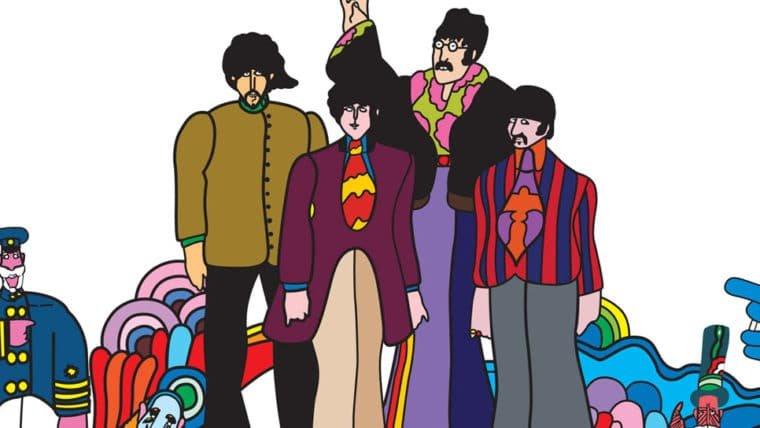 Visite o fundo do mar com os Beatles na HQ de Yellow Submarine