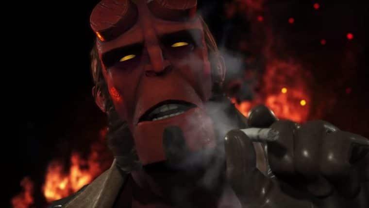 Hellboy, Arraia Negra e Raiden são os novos personagens de Injustice 2; veja o trailer