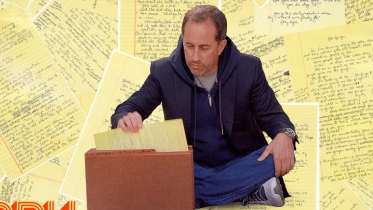 Jerry Seinfeld anuncia seu primeiro especial de comédia para Netflix