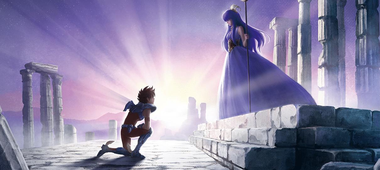 Veja o primeiro cartaz do novo anime de Cavaleiros do Zodíaco da Netflix