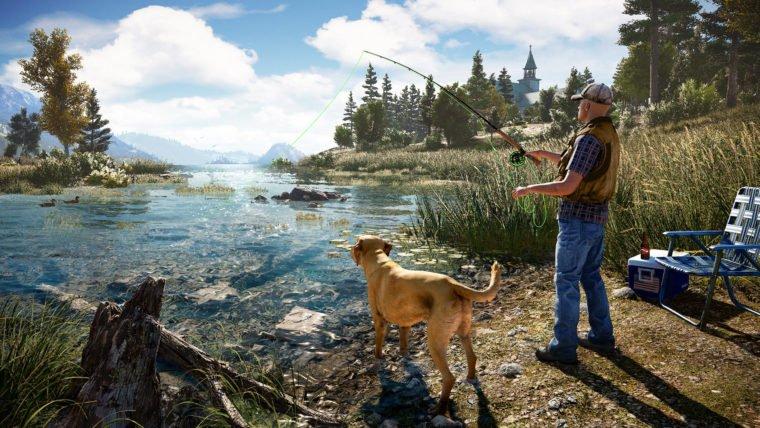 Mate pessoas com um trator e pesque no lago com o novo vídeo de Far Cry 5