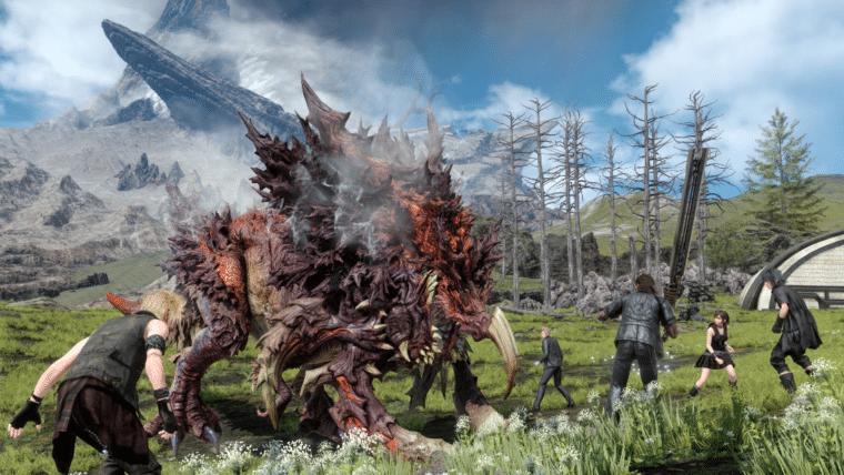 Final Fantasy XV   Com 170GB, jogo chega ao PC em 2018
