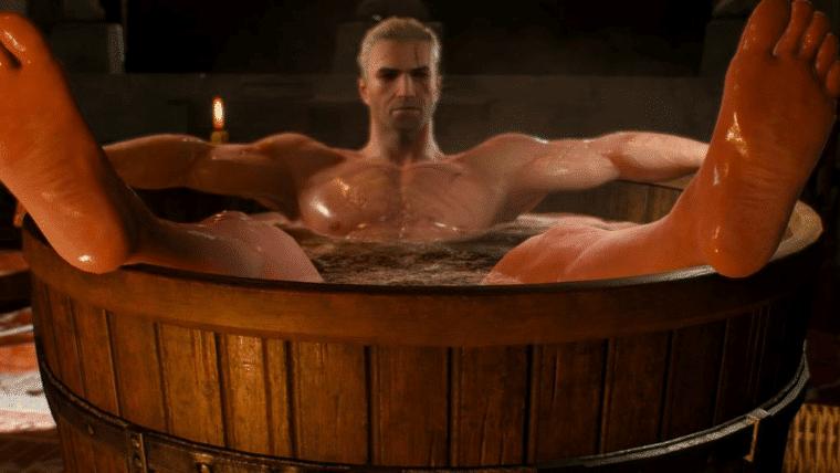 The Witcher ganha livro de colorir para adultos e sim, tem o Geralt na banheira