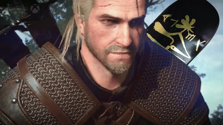 Geralt skatista! Liberte o Chorão dentro de você com este mod de skate em The Witcher 3